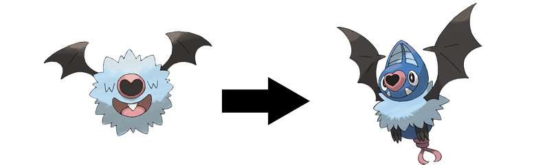 top 10 best pokemon of all time! Bat-swoobat