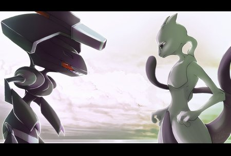 Genesect v/s Mewtwo.