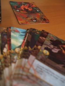 Mazo de cartas Fénix