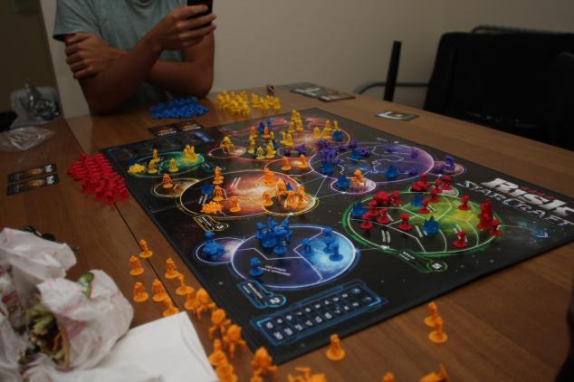 Risk, versión de Starcraft. Por su puesto que está en mi colección.